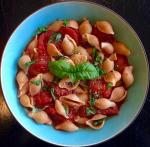 Italian Tomatoes with Whole Wheat Pasta