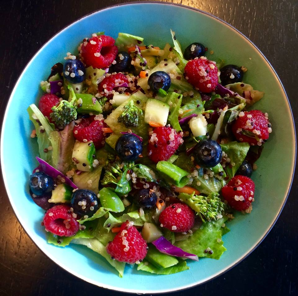 Berry Beautiful Salad