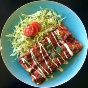 Family Friendly Vegan Enchiladas