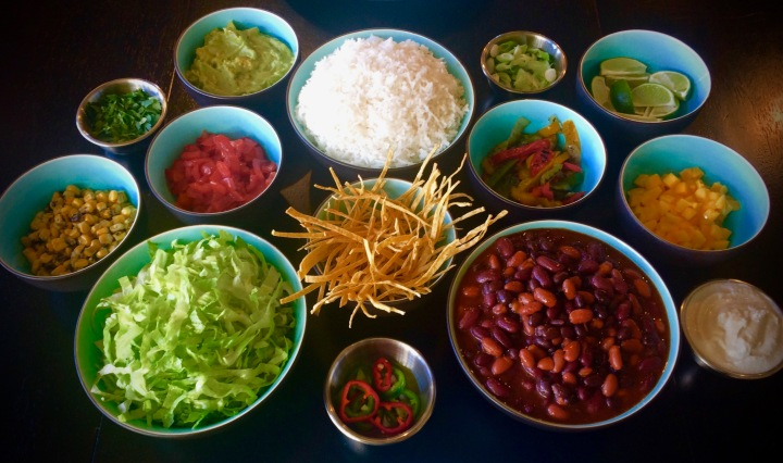 Build Your Own BURRITO BOWLS!