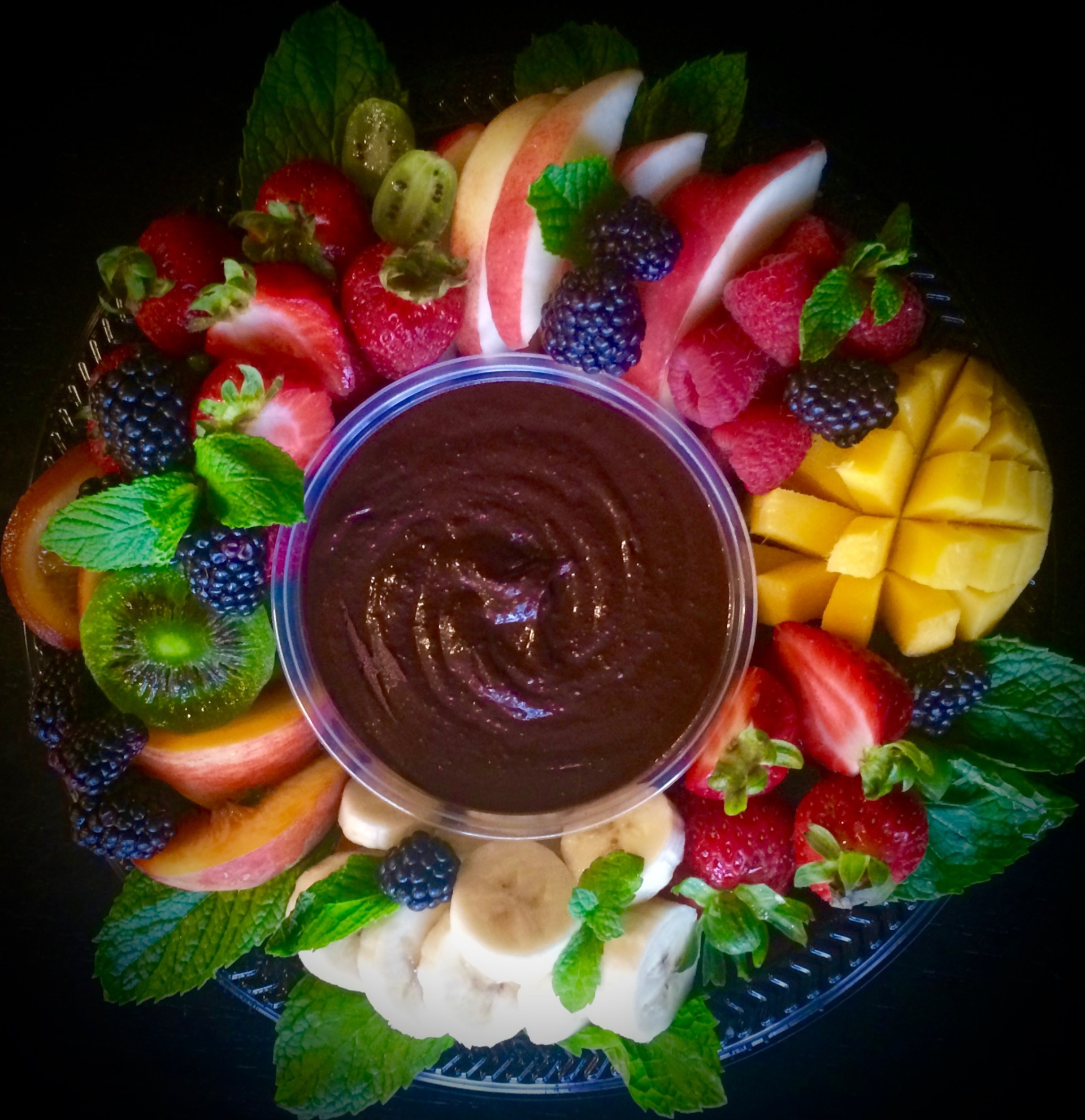 Chocolate Dessert Hummus