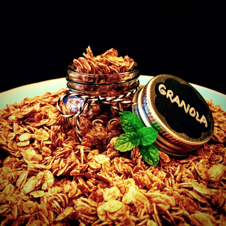 Homemade Oil-free Granola