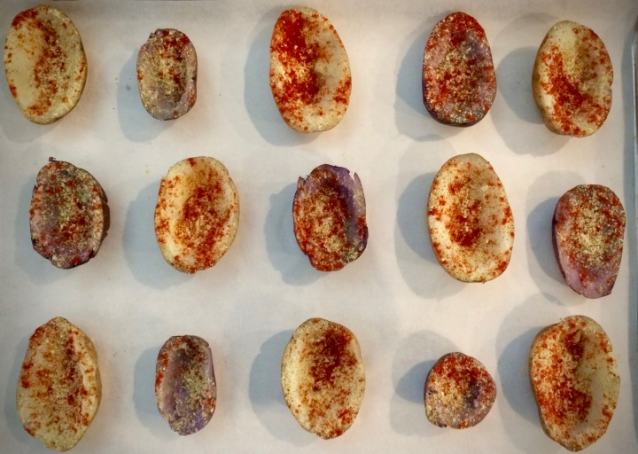 STEP 4: Vegan Loaded Baked Potato Skins