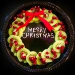 Plant-based Christmas Plate