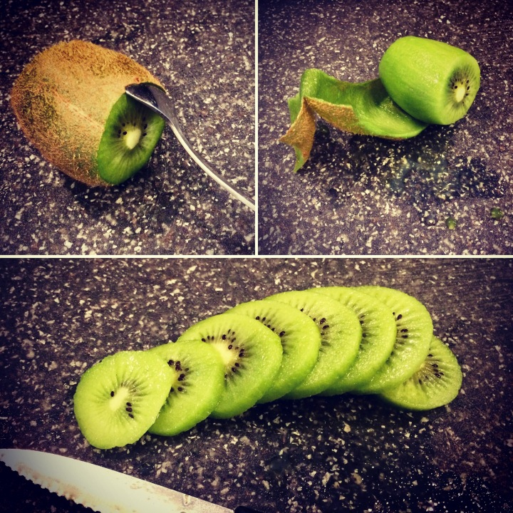 How to Perfectly Peel a Kiwi Fruit