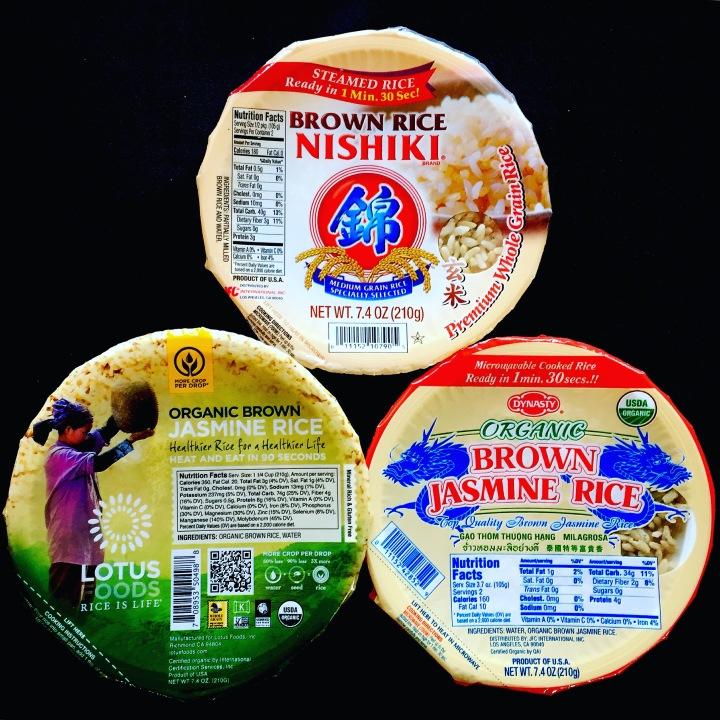 Vegan Road Trip: Brown rice bowls with NO SALT or OIL!