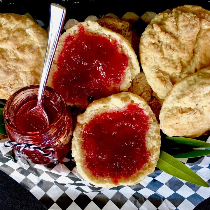 Vegan Sour Cream Biscuits (Oil-free)