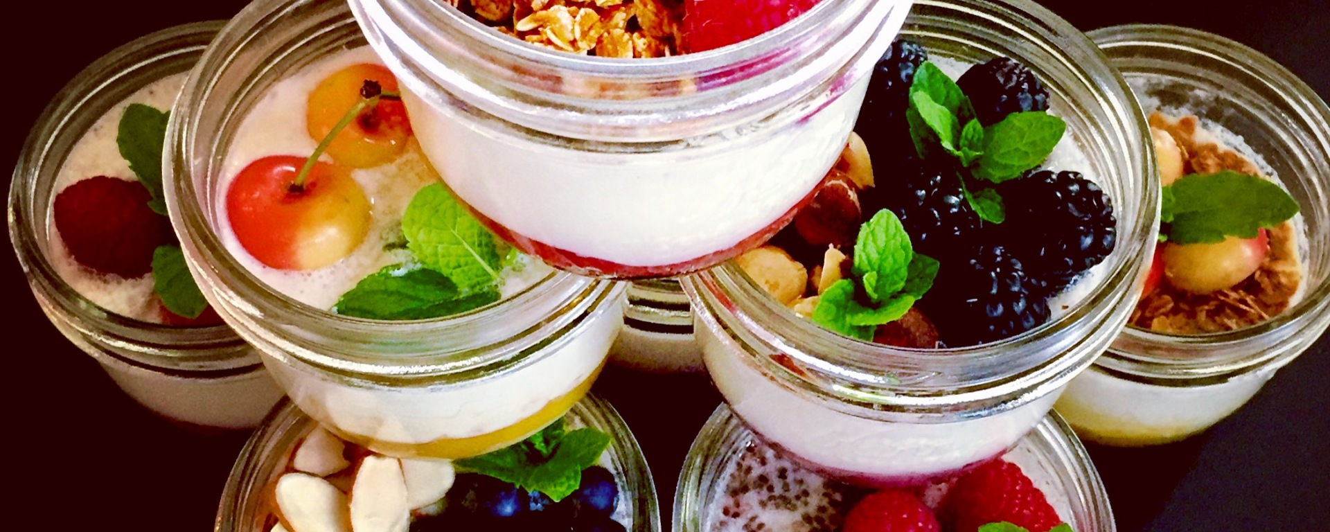 Instant Pot Non-dairy Yogurt (with fruit on the bottom)
