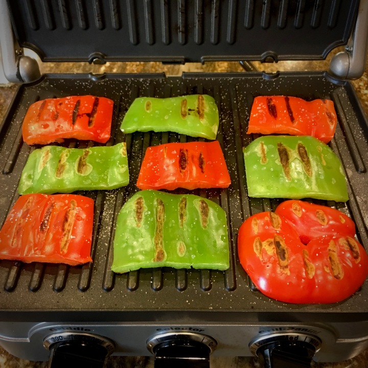 Grill Vegetables in your PANINI MAKER!