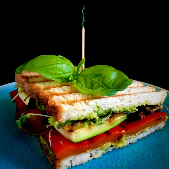 How to make the PERFECT GRILLED VEGGIE PANINI!