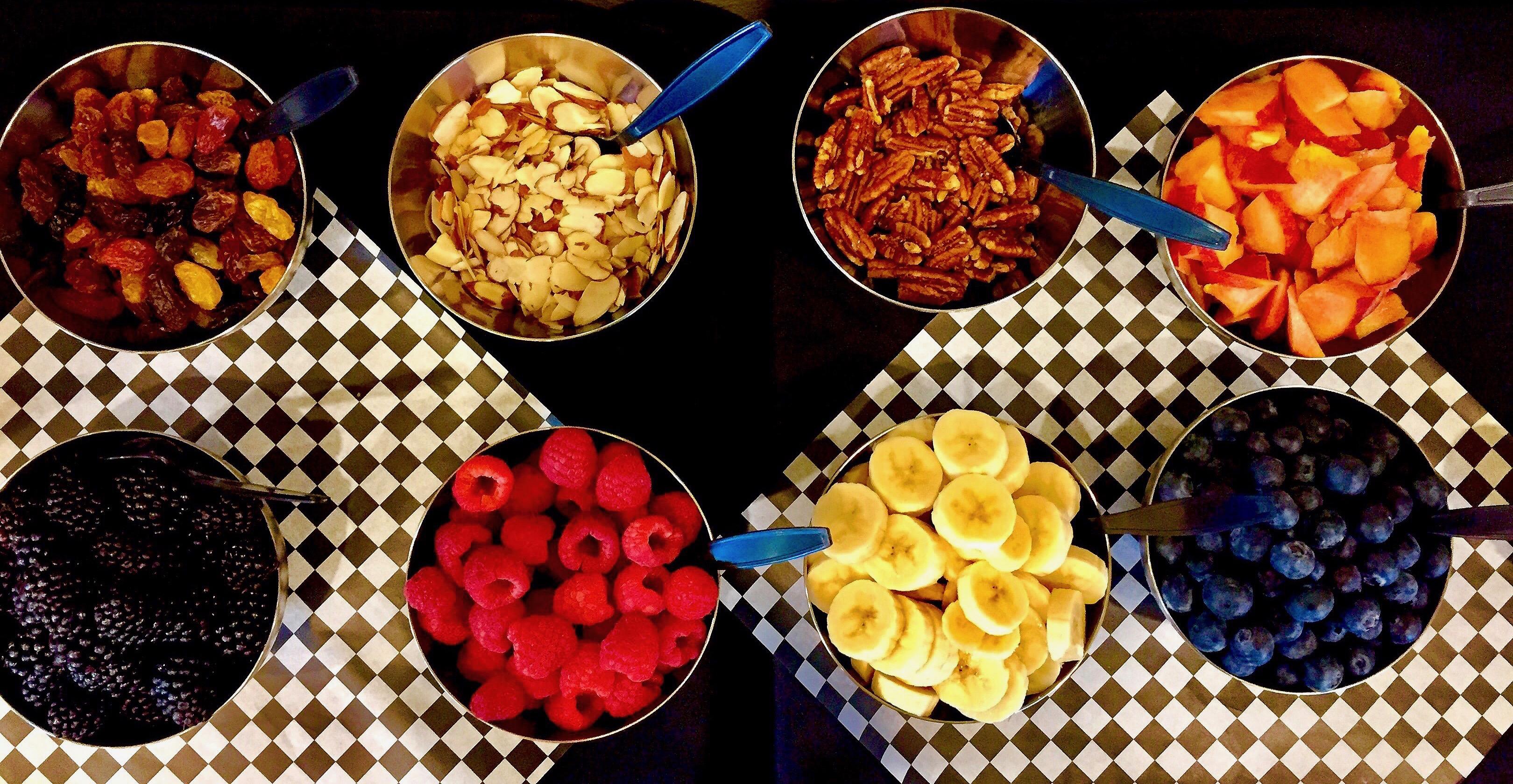 INSTANT POT Steel-cut Oatmeal Breakfast Buffet- Toppings