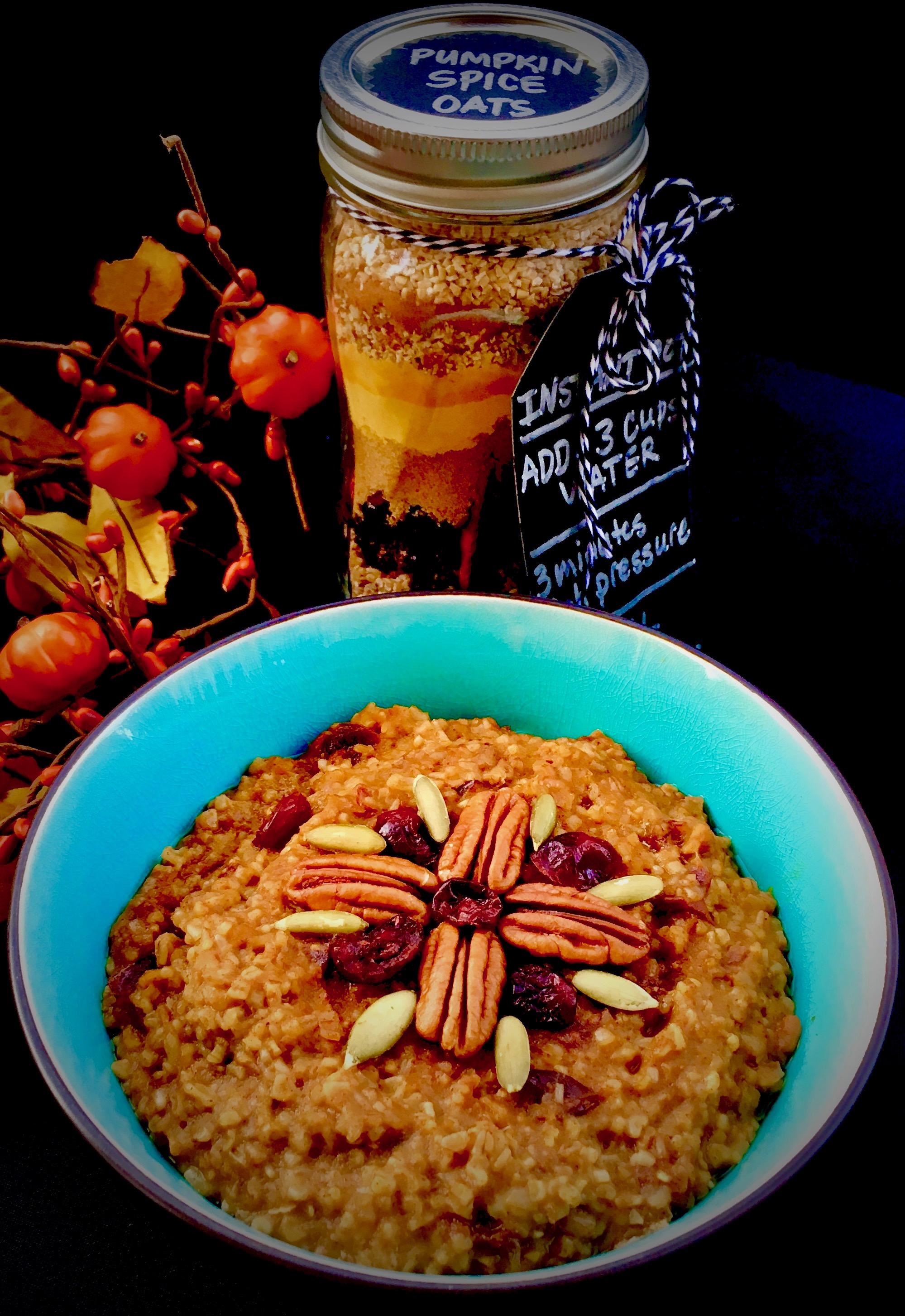 INSTANT POT MEAL KIT: Pumpkin Spice Steel-cut oats