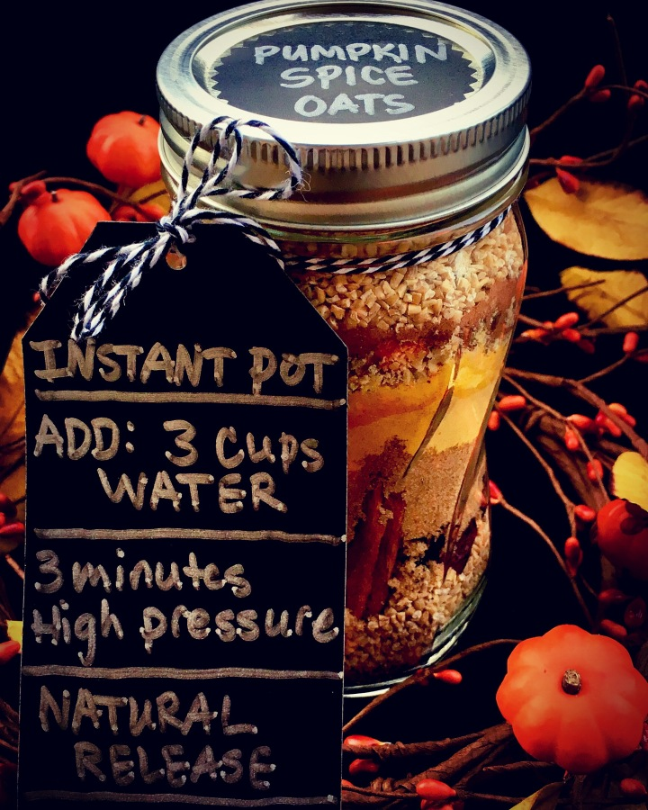 INSTANT POT Meal in a JAR- JUST ADD WATER!