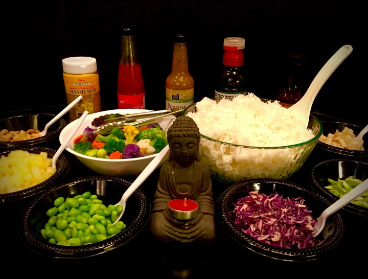 """Build Your Own Buddha Bowl"" Buffet"